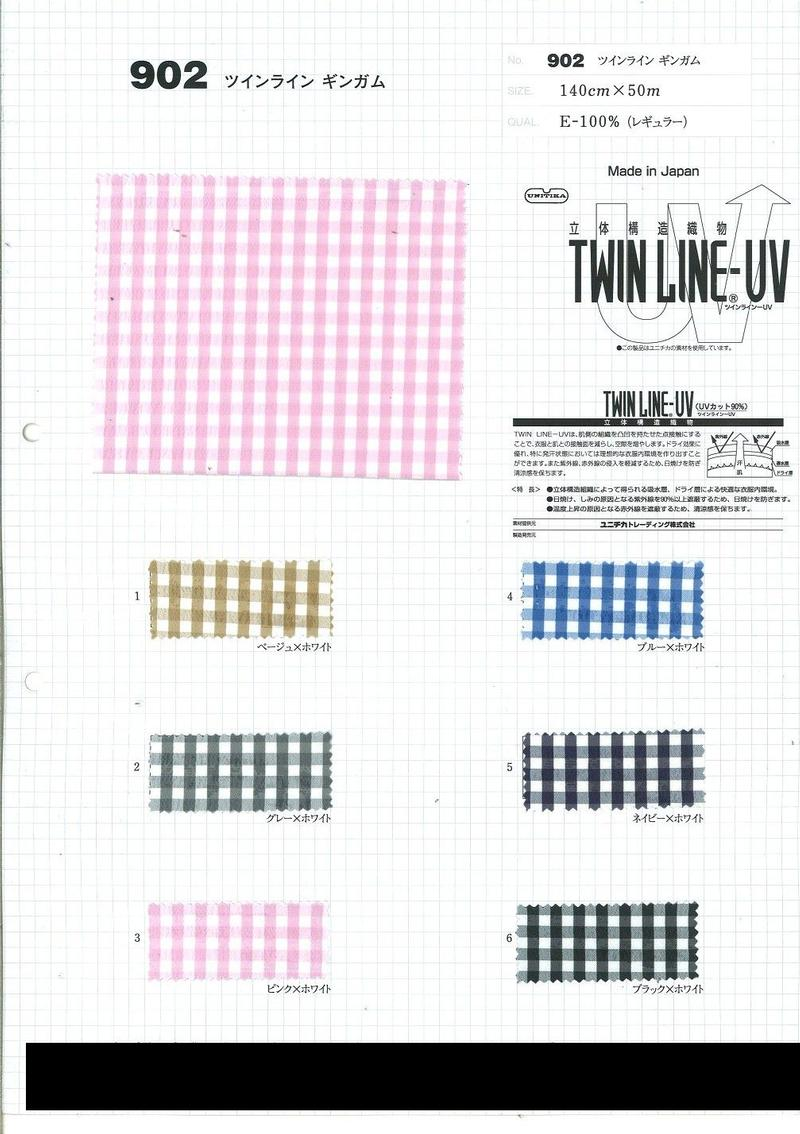 View 100% Poly YD Gingham Dobby Cloth